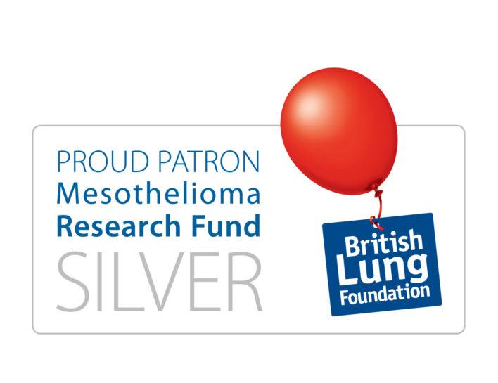 British Lung Foundation, Mesothelioma Patron Scheme, Silver Member renewal